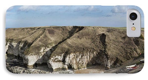 Flamborough North Landing IPhone Case by David  Hollingworth