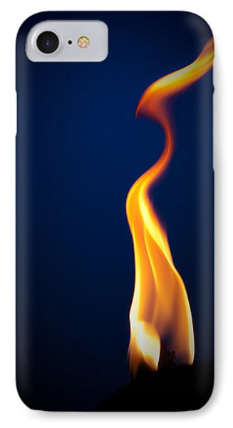 Flame Phone Case by Darryl Dalton