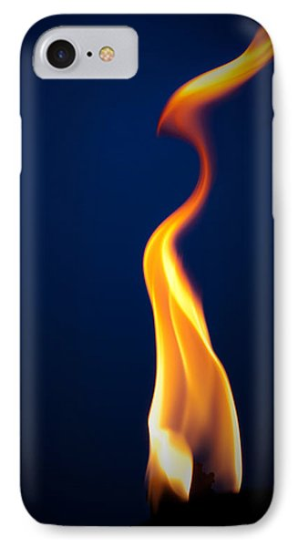 Flame IPhone Case by Darryl Dalton