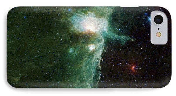 Flame Nebula Phone Case by Adam Romanowicz