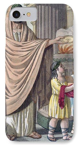 Flamen, 1796 IPhone Case
