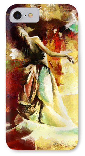 Flamenco Dancer 032 Phone Case by Catf