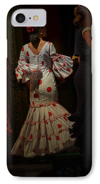 Flamenco Dancer #14 IPhone Case by Mary Machare