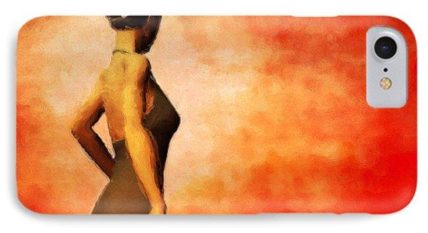 Flamenco IPhone Case by John Edwards