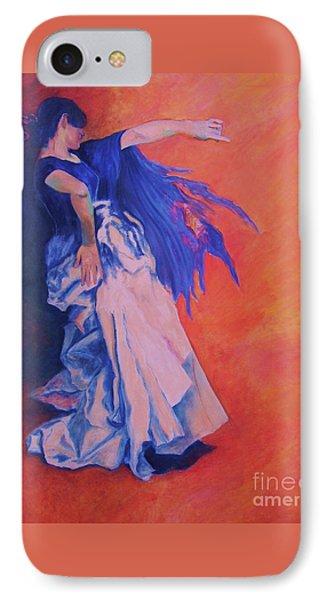 Flamenco-john Singer-sargent Phone Case by Dagmar Helbig
