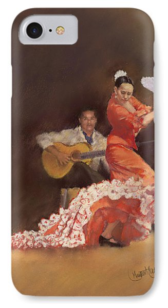 Flamenco Phone Case by Margaret Merry