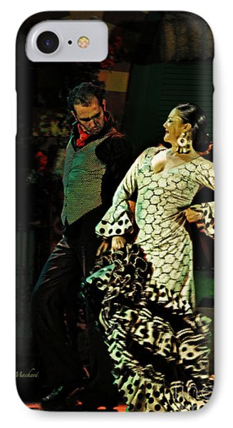 Flamenco Series No 11 Phone Case by Mary Machare