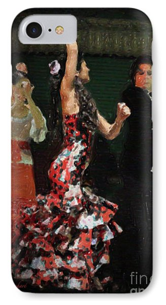 Flamenco Series No 13 IPhone Case by Mary Machare