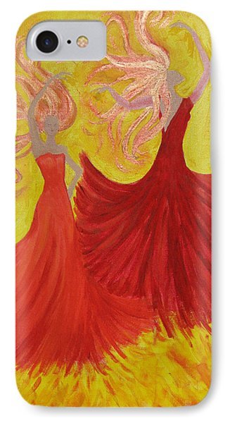 IPhone Case featuring the painting Flamenco by Stephanie Grant