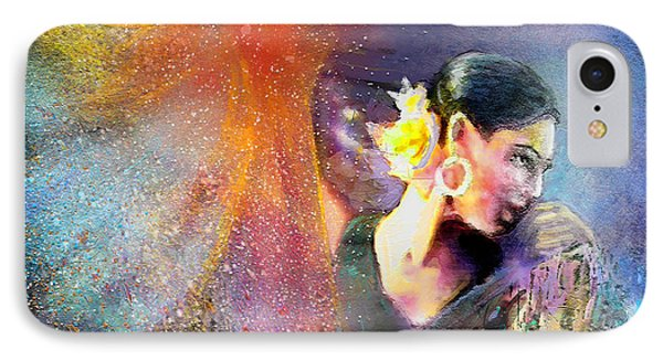 Flamencoscape 04 Phone Case by Miki De Goodaboom