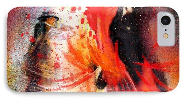 Flamencoscape 07 Phone Case by Miki De Goodaboom