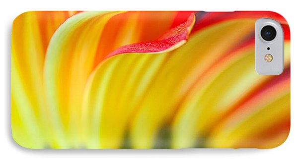 Flames IPhone Case by Joan Herwig