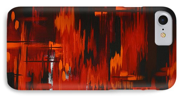 Flames Of Passion IPhone Case by Dani Abbott