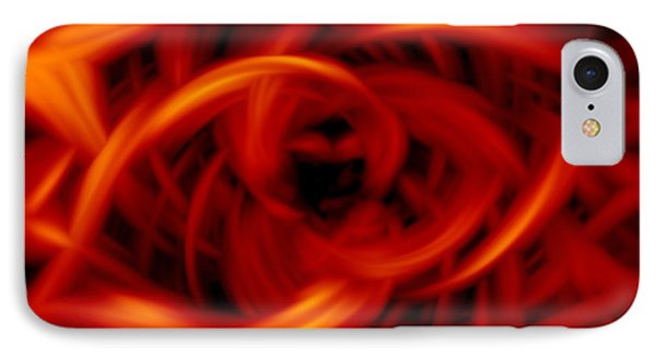 Flames Red IPhone Case