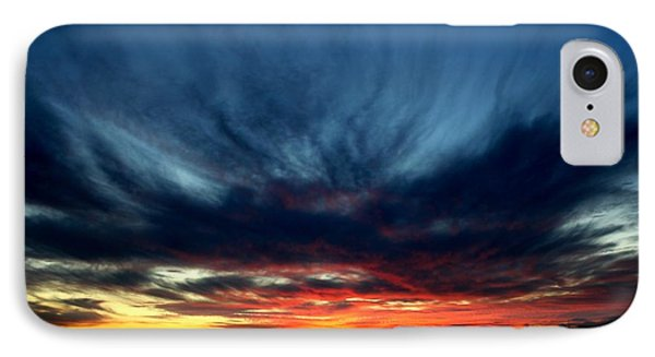 Flaming Hues Phone Case by Theresa Willingham