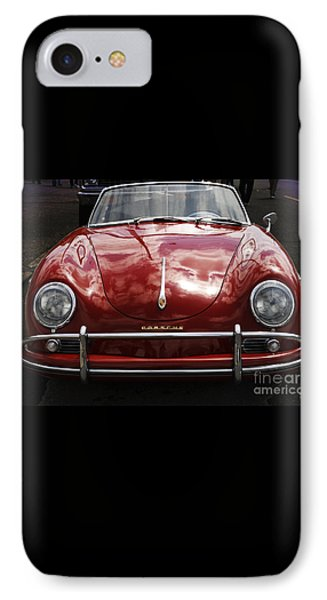 Flaming Red Porsche IPhone Case