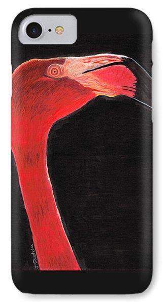 Flamingo Art By Sharon Cummings IPhone 7 Case by Sharon Cummings