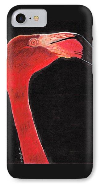 Flamingo Art By Sharon Cummings IPhone Case by Sharon Cummings