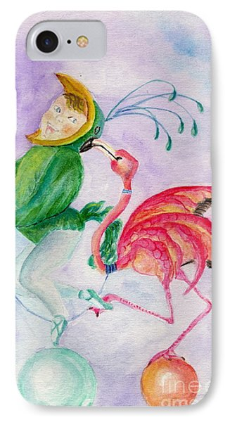 Flamingo Circus IPhone Case