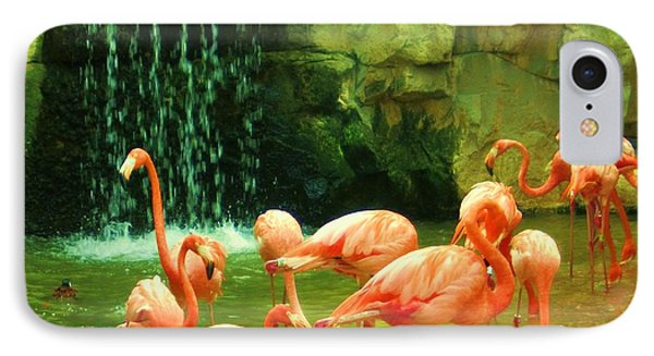 Flamingo Phone Case by Esther Rowden
