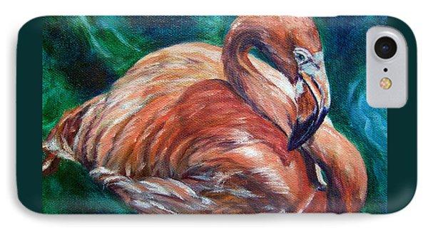 Flamingo Flare IPhone Case