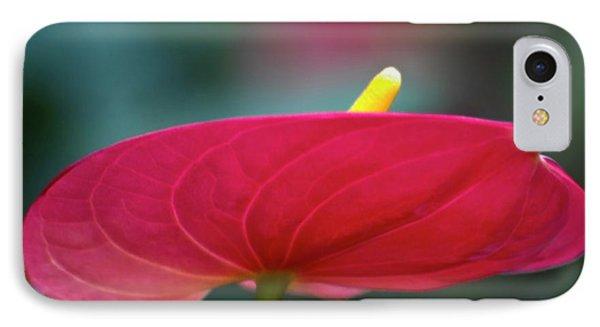 Flamingo Flower 1 Phone Case by Heiko Koehrer-Wagner