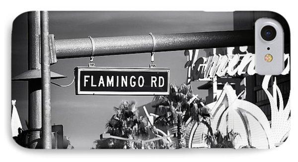 Flamingo Road Phone Case by John Rizzuto
