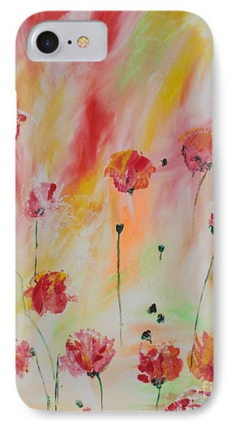 IPhone Case featuring the painting Flanders Field by PainterArtist FIN
