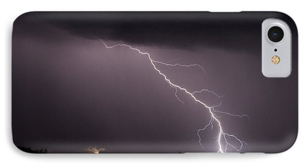Flash In The Night Three IPhone Case by Eric Rundle