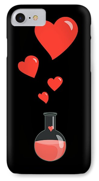 Flask Of Hearts IPhone Case