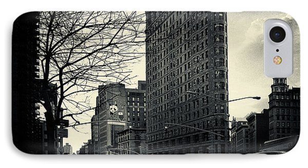 Flat Iron Building Fifth Avenue And Broadway Phone Case by Sabine Jacobs