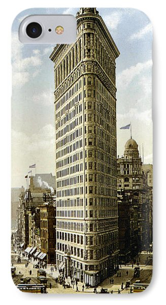 Flat Iron Building New York 1903 Phone Case by Unknown