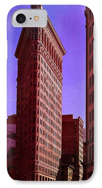 Flat Iron  IPhone Case by Laura Fasulo