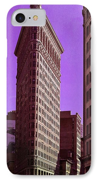 Flat Iron Nyc IPhone Case by Laura Fasulo