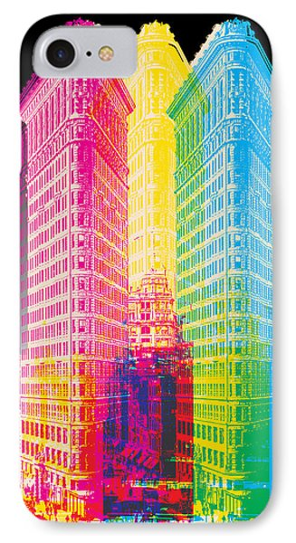 Flat Iron Pop Art IPhone Case