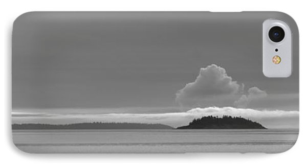 Flat Top Island Bw IPhone Case