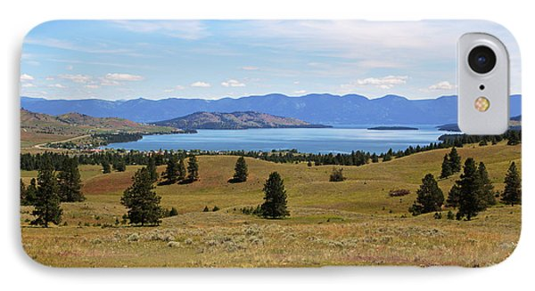 Flathead Lake View IPhone Case