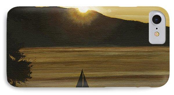 Flathead Sunset IPhone Case by John Wyckoff