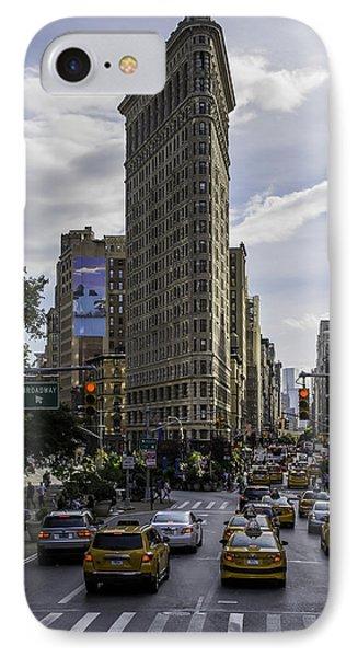 Flatiron Building IPhone Case