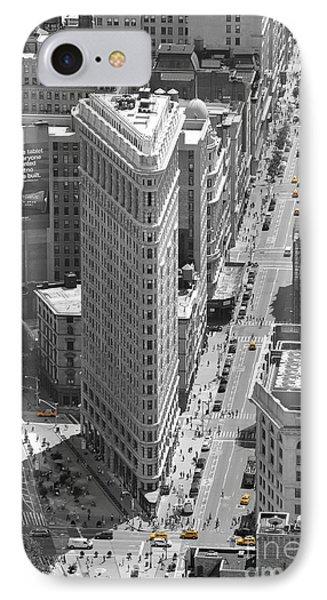 IPhone Case featuring the photograph Flatiron Building by Randi Grace Nilsberg