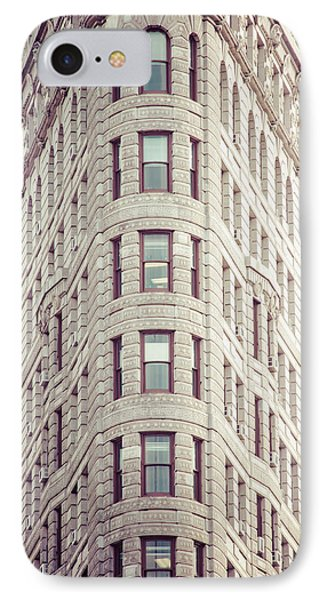 Flatiron Building IPhone Case by Takeshi Okada