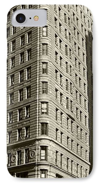 Flatiron In Sepia Phone Case by David Bearden