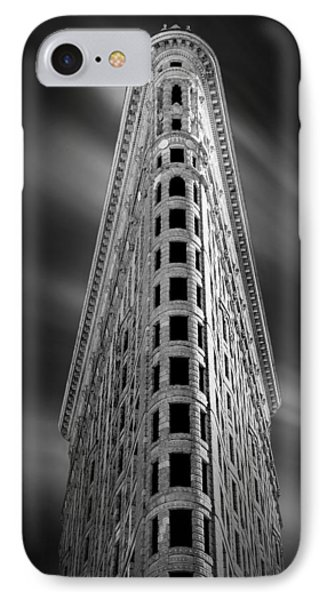 Flatiron Nights IPhone Case by Az Jackson