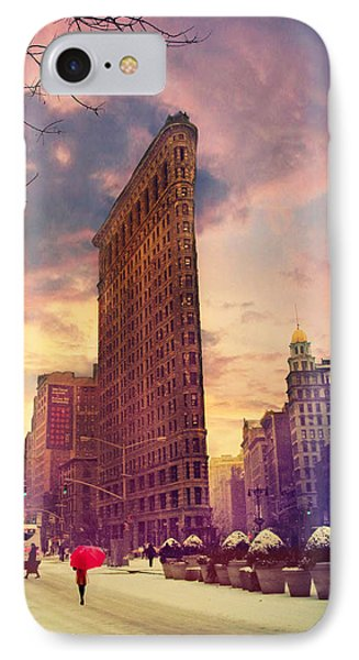 Flatiron Winter IPhone Case by Jessica Jenney