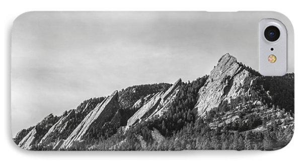Flatirons B W IPhone 7 Case