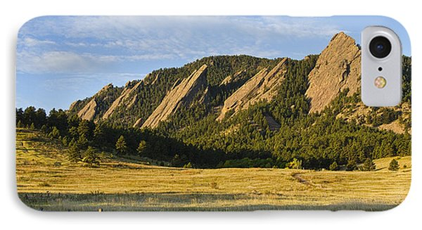 Flatirons From Chautauqua Park IPhone 7 Case