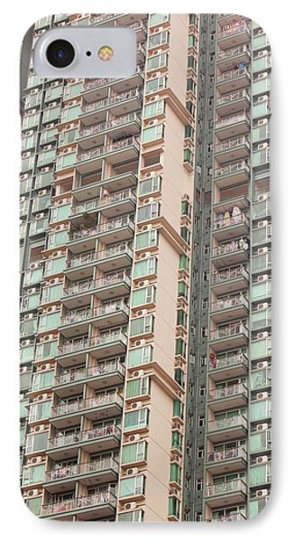 Flats In Kowloon IPhone Case by Ashley Cooper