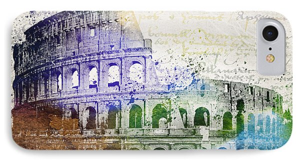 Flavian Amphitheatre IPhone Case by Aged Pixel