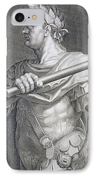 Flavius Domitian Phone Case by Titian