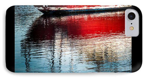 Red Boat Serenity Phone Case by Karen Wiles